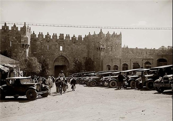 عکس/دروازه دمشق سال 1940