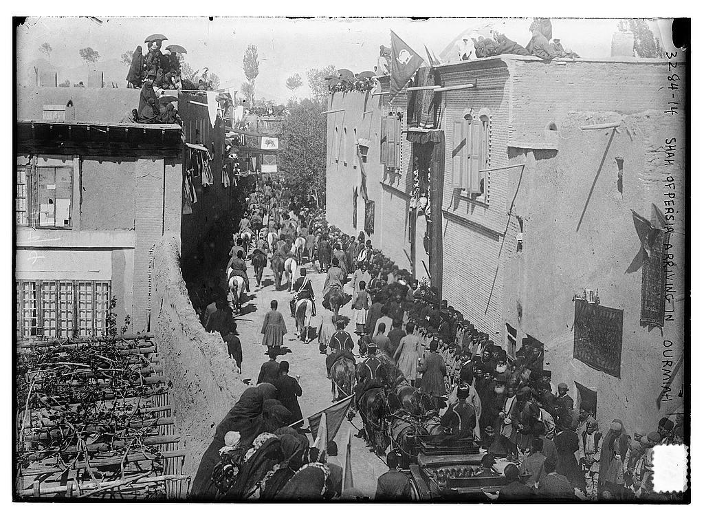 عکس/بازدید احمد شاه از ارومیه