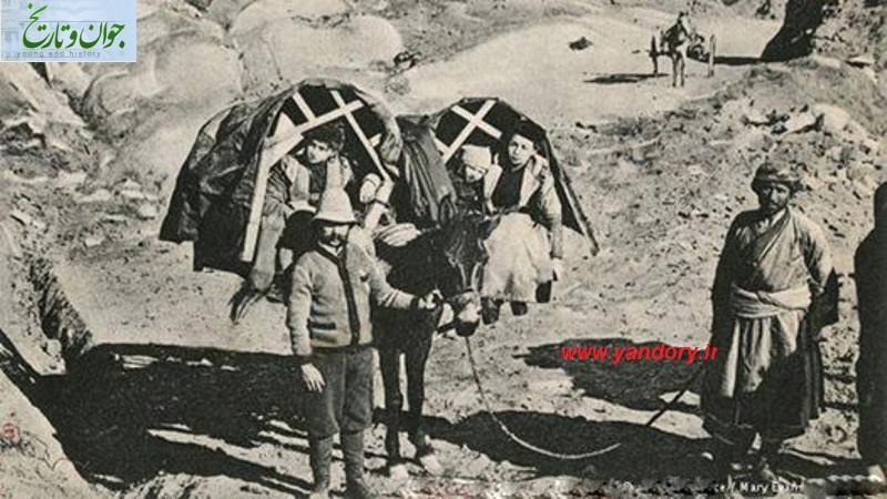 عکس/مسافران خارجی سال 1913