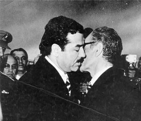عکس/خوش و بش دو دیکتاتور