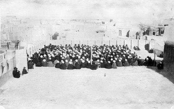عکس/مجلس درس طلاب نجف در قدیم