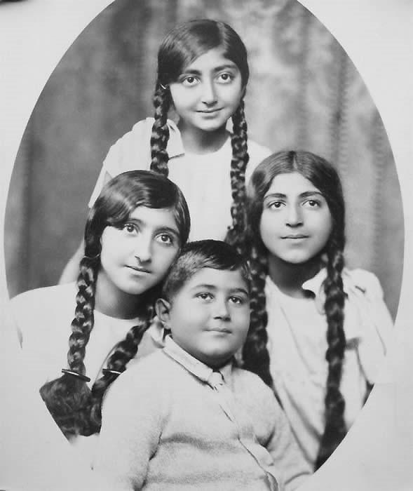 عکس/فرزندان احمد شاه قاجار