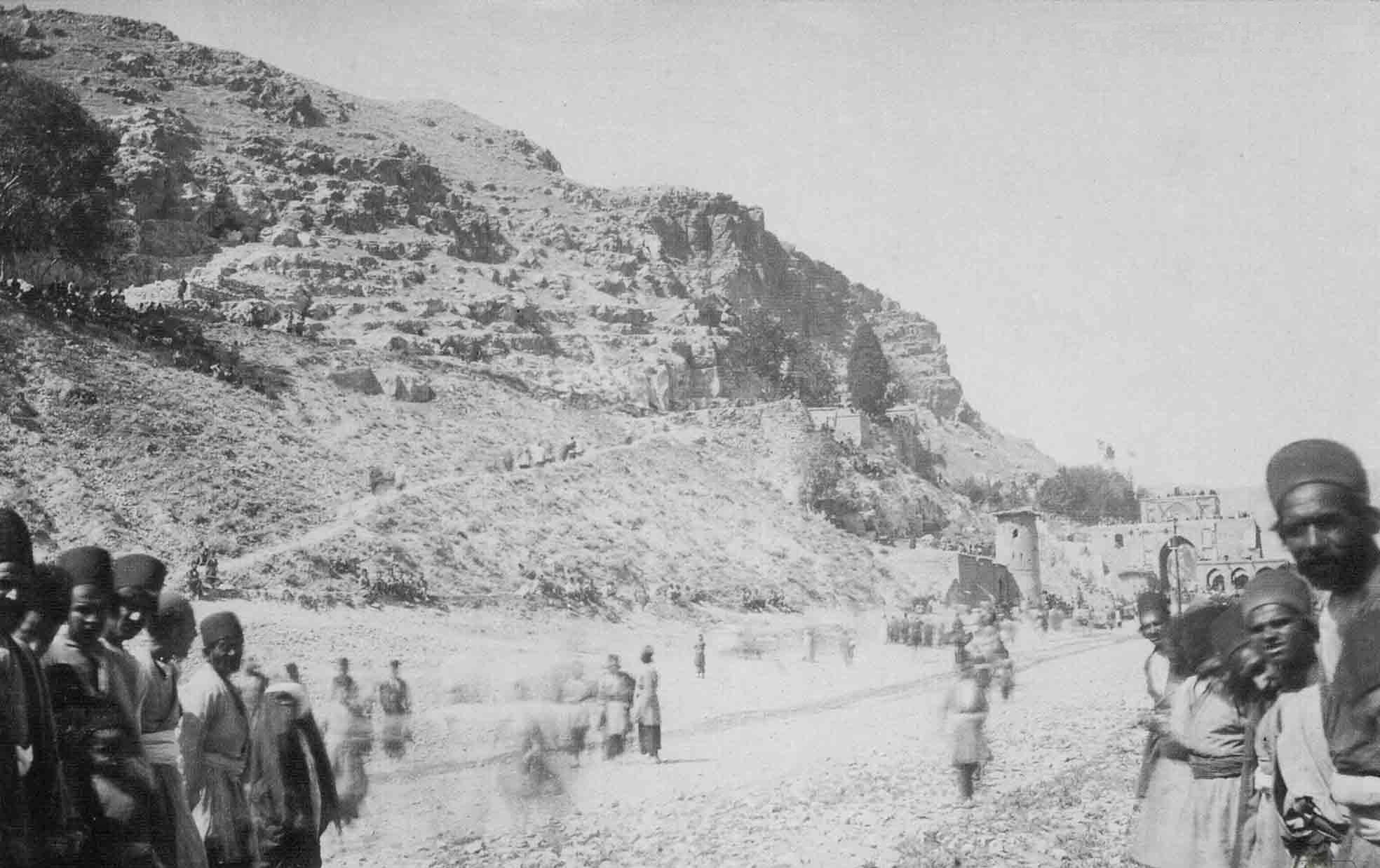 عکس/دورنمایی از دروازه قرآن شیراز دوره قاجار