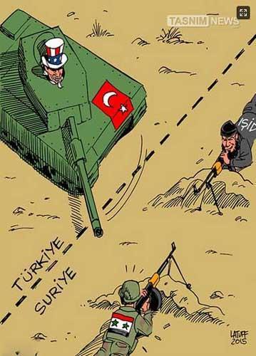 نقش دوگانه ترکیه در مقابل سوریه