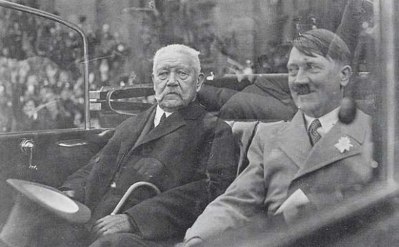 عکس/هیتلر و هیندنبورگ، ژانویه 1933