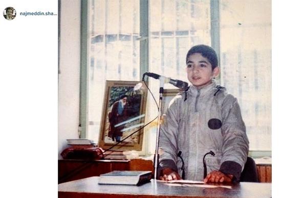 عکس/ جشن تکلیف مجری تلویزیون