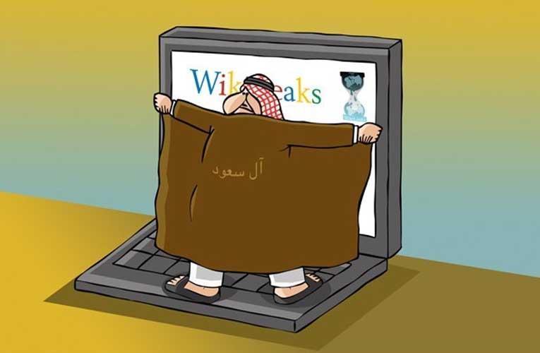 حمله ویکیلیکس به آل سعود