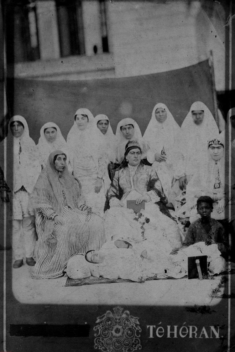با نفوذترین زن ناصرالدین شاه/عکس