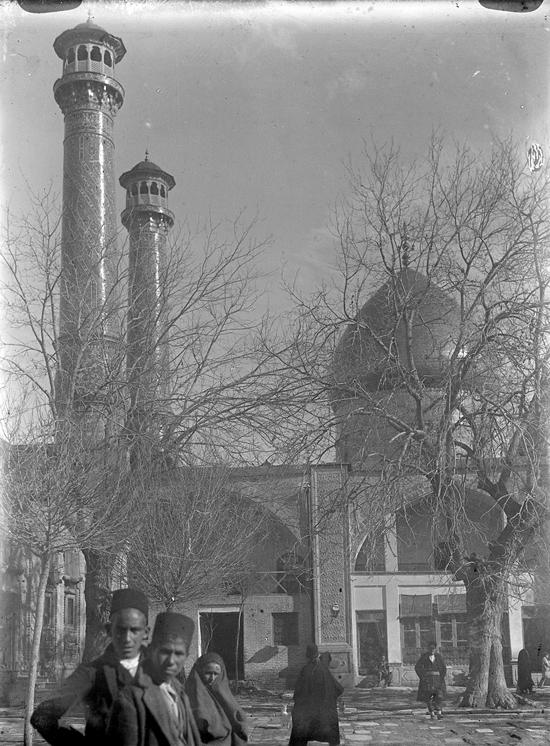 عکسی قدیمی از شاه عبدالعظیم