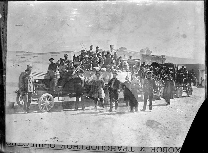 اولین کامیونی که وارد ایران شد/عکس