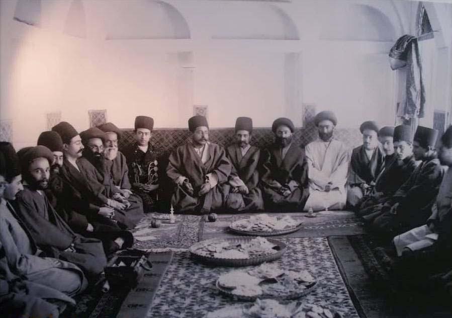 مراسم خواستگاری دوره قاجار/عکس