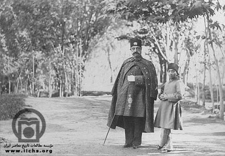 ناصرالدین شاه و ملیجک