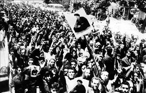 تصاويري از قيام خونين 15 خرداد