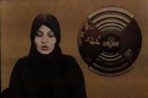 عکس/ گوینده اخبار تلویزیون در سال 1359