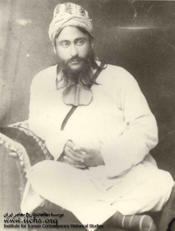 یک درویش جوان در اواخر قاجاریه
