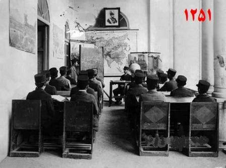 مدرسه ای نوین در ایران/عکس