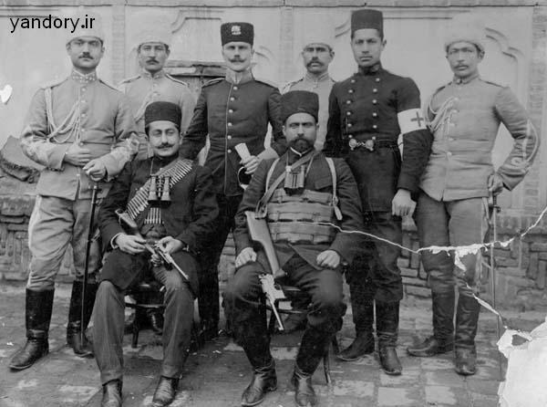 یپرم خان و سردار اسعد از فاتحان تهران