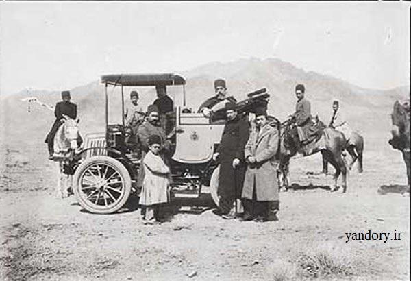 نخستین اتومبیل وارد شده به ایران/عکس