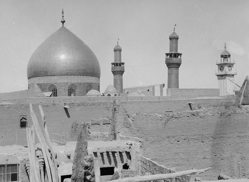 نجف اشرف 80 سال پیش اینگونه بود/تصاویر