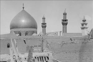 تصاویری از شهر نجف و حرم حضرت علی(ع) در 80 سال پیش