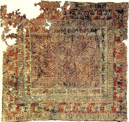 قدیمی ترین فرش جهان+عکس