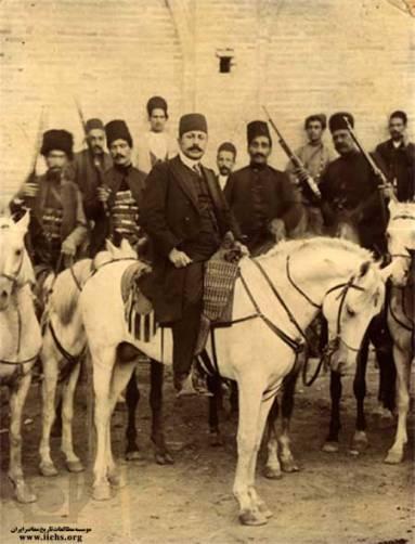 عبدالحسین معزالسلطان (سردارمحیی) فرمانده مجاهدین گیلان