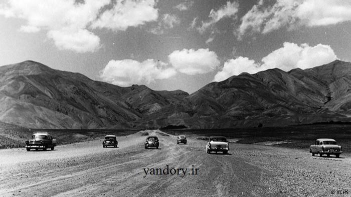 لوکس سواران در جاده خاکی شمیران/عکس