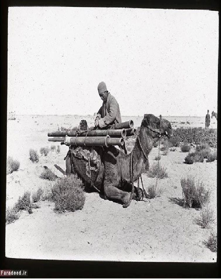 احداث اولین خط تلگراف در زمان ناصرالدین شاه + عکس