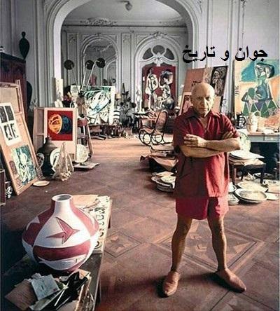 منزل پیکاسو در فرانسه/عکس