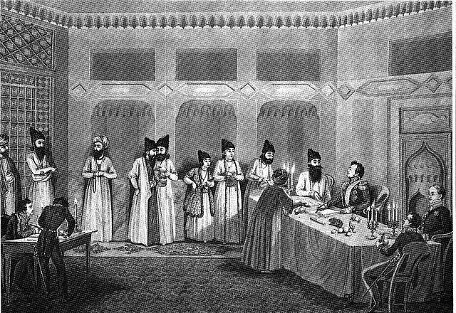 معاهده ترکمنچای و تکوین کاپیتولاسیون