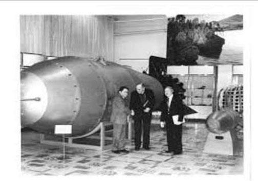 نمایش مهیبترین بمباتمی درمسکو/عکس