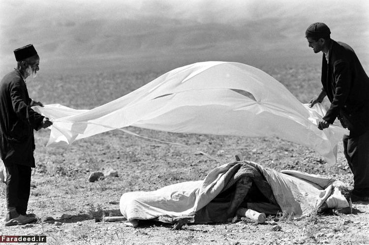 گزارش عکاس امریکایی از فاجعۀ بوئینزهرا/تصاویر