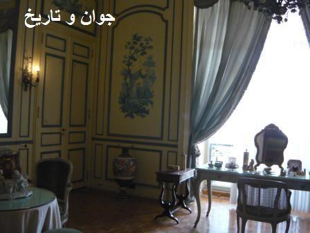 عکس/اتاق آرایش فرح در کاخ نیاوران
