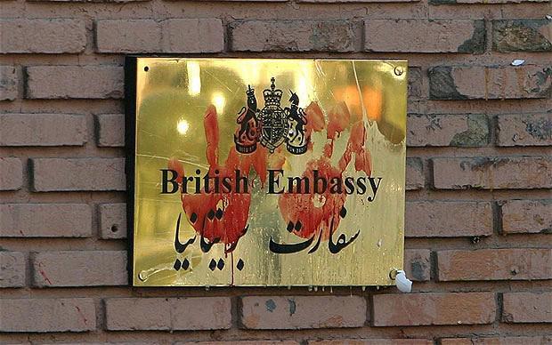 سفارتانگلستان درتهران مرکز فرماندهی فتنه