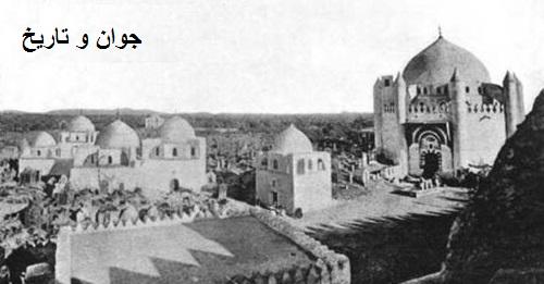 قبرستان بقیع قبل از تخریب/تصاویر