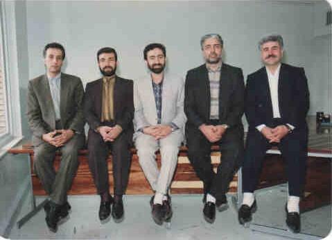 عکس/گویندگان خبرسیما، 23سال پیش