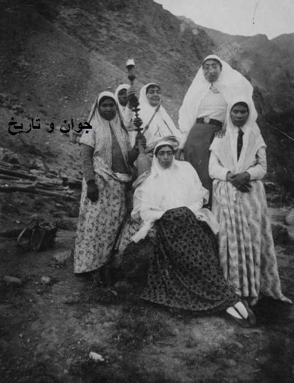 تفریح زنان قاجاری/ عکس