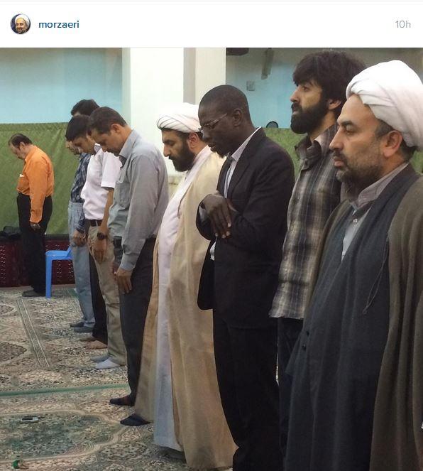 مهمان فرانسوی محمدرضا زائری +تصویر