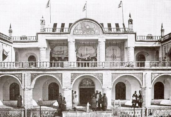اولین هتل مدرن ایران در دوره قاجار+عکس