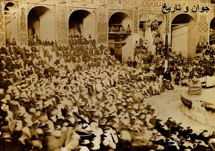 مراسم عزاداری و اجرای تعزیه در دوره قاجار/عکس