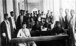اولین دسته محصلین ایرانی عازم اروپا شدند