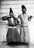 دلقکهای دربار ناصرالدین شاه/ عکس