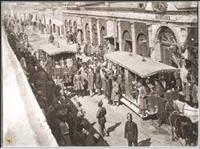 ماشین دودی و واگن اسبی تهران قدیم