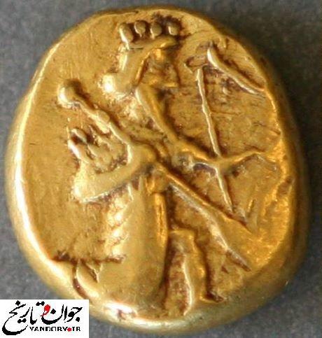 سکه ایرانی در 500 سال پیش از میلاد مسیح/عکس