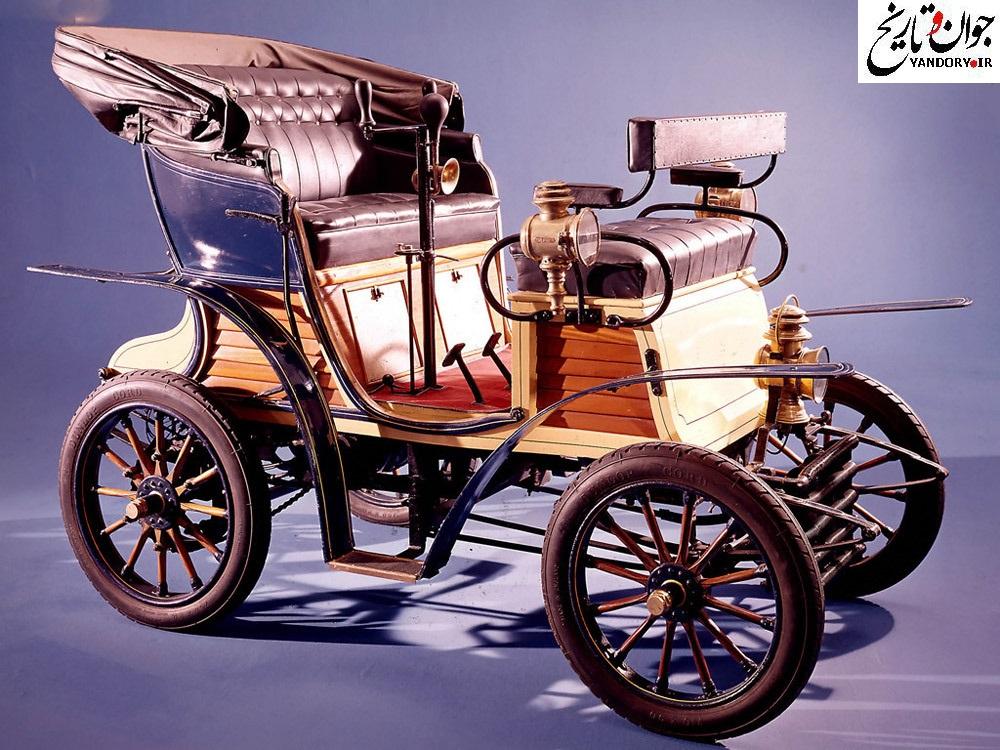 عکس/ اولین خودروی فیات