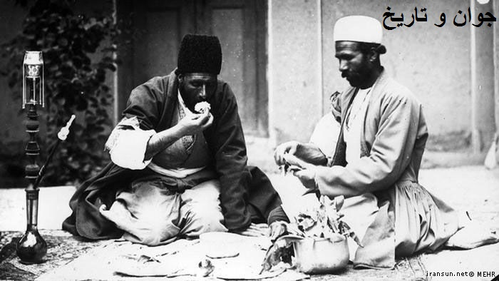 آداب و قیمت غذای ایرانیان در دوره قاجار