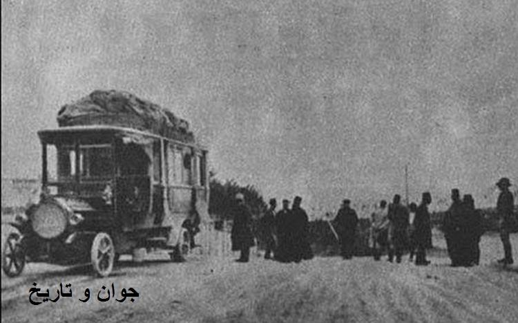 اولین اتوبوس وارد شده به ایران/عکس