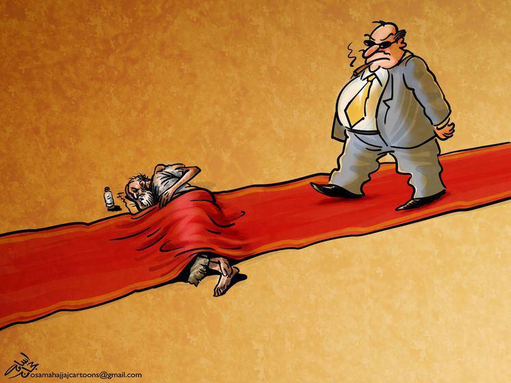 کارتون/ فرش قرمز !
