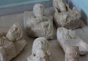 حراج آثار باستانی سوریه توسط داعش در غرب