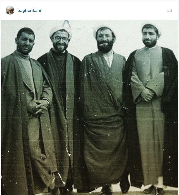 عکسی تاریخی از دو برادر انقلابی